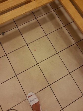 Rhinefield House Hotel: dirty floors