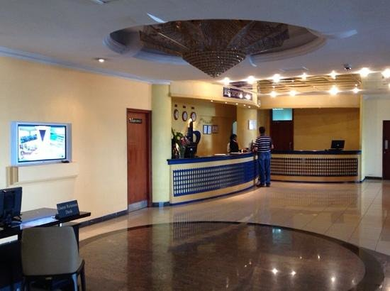 The Panari Hotel: Reception