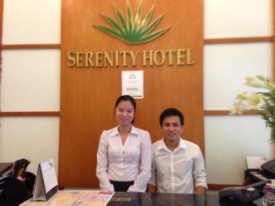 Hanoi Serenity Hotel: Nicest guys in town!
