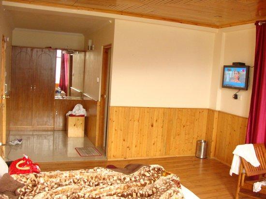 Pause at Manali: room