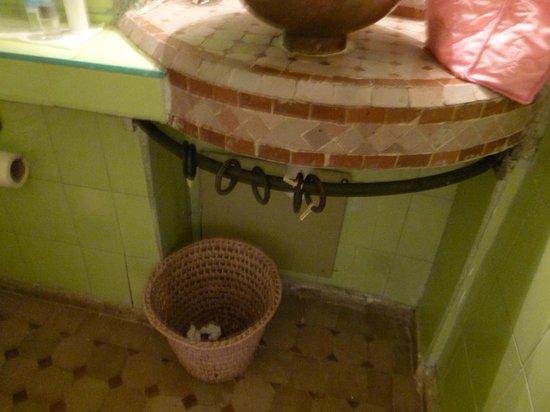 Dar Lila : le plan de toilette