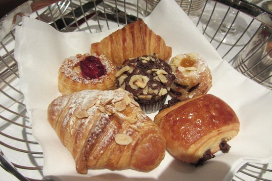 The Delaunay: Basket of mini-pastries
