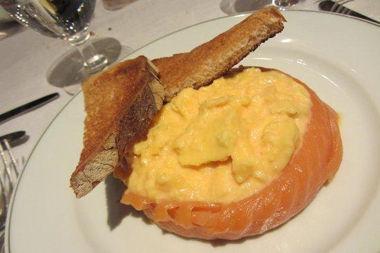The Delaunay: Smoked salmon & scrambled eggs