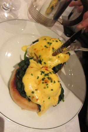 The Delaunay: Eggs Florentine