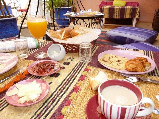 Dar Lila : Le petit déjeuner
