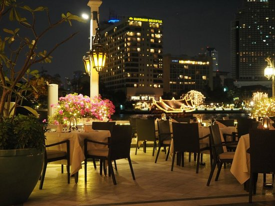Mandarin Oriental, Bangkok: night view