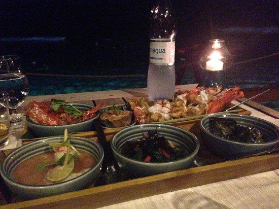 Anantara VeliMaldivesResort: yummy seafood