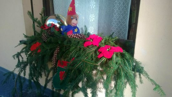 Albergo Santo Spirito : Addobbi natalizi