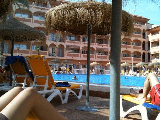 Bahia Tropical Hotel: Hôtel côté piscine