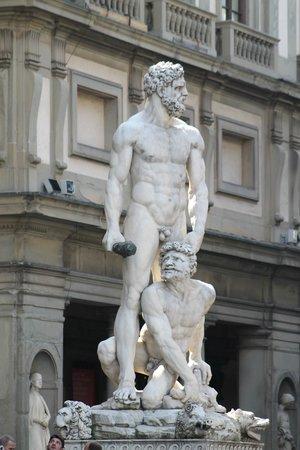 Piazza della Signoria : statua