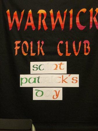 Warwick Arms Hotel: warwick folk club