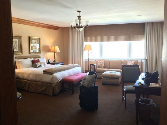 Haywood Park Hotel: Huge rooms