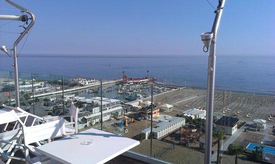 Hotel Lungomare: panoramica dalla terrazza