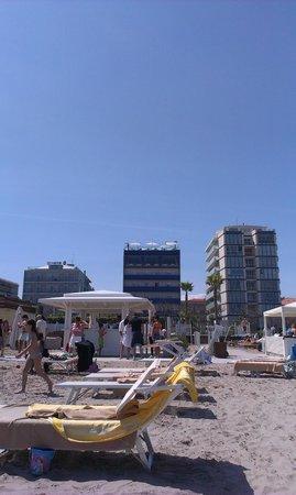 Hotel Lungomare: l'hotel dalla sua spiaggia