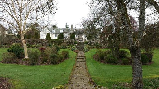 Rufflets Hotel: From grounds, looking back at hotel