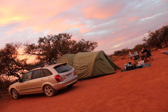 Bullara Station Stay : our tent