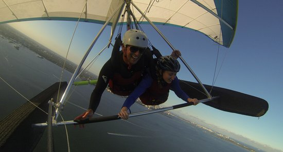 Hang Glide Miami: This is when Mike let me drive. haha