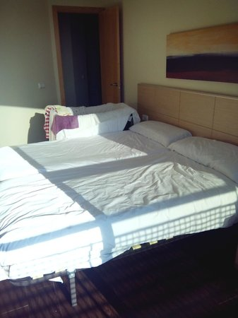 Valencia Rental : Apartamento 2 habitaciones.Habitación doble.
