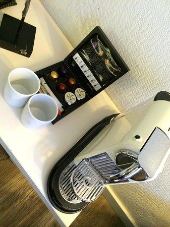The Albus: Nespresso in camera