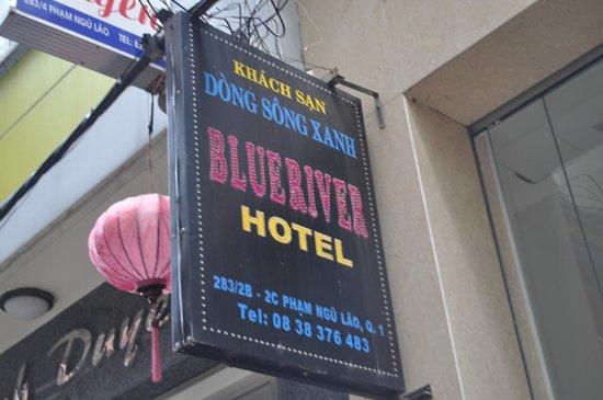 Blue River Hotel: Accueil