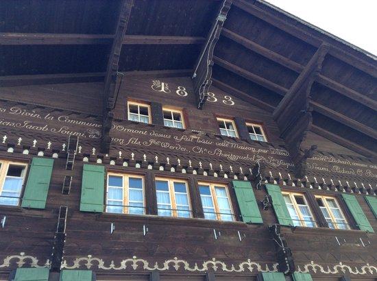 Auberge de L'Ours : Façade de 1833