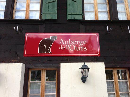 Auberge de L'Ours : Logo de l'Auberge