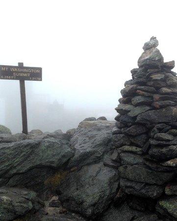 Mount Washington Auto Road: На вершине