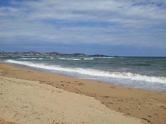 L'Etoile d'Argens : la plage