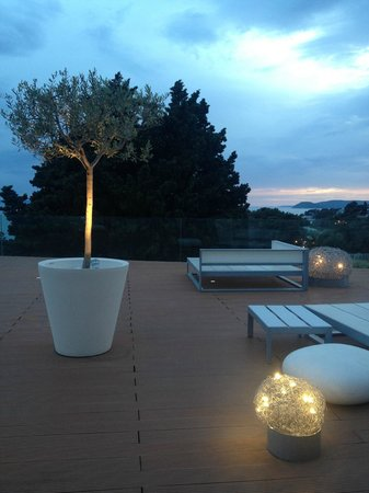 Radisson Blu Resort & Spa Split: the terrace