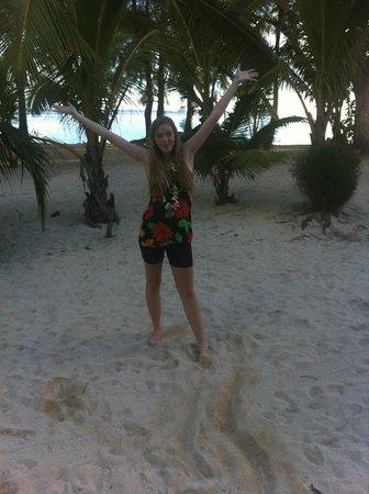 The Rarotongan Beach Resort & Spa: Outside our rooms