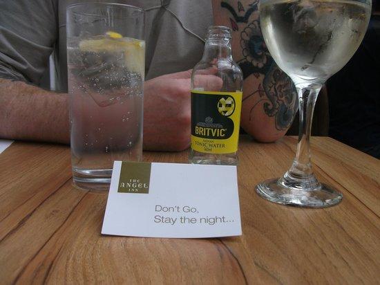 The Angel Inn : definitely worth a stay !!