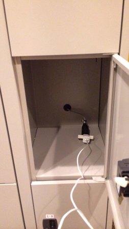 Asakusa Hotel Waso : 充電用ロッカー