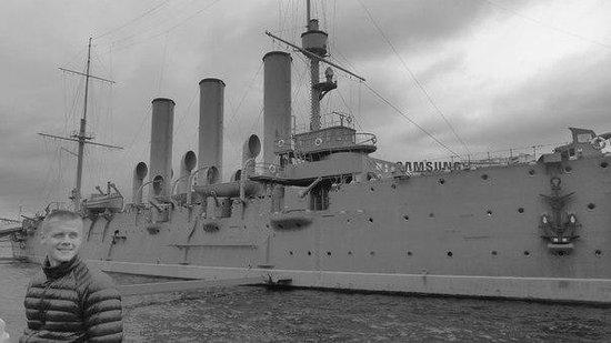 Cruiser Aurora: В чёрно-белом свете