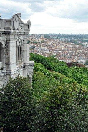 Basilique Notre Dame de Fourviere: Panorama