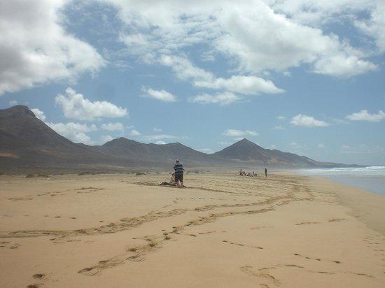 Playa de Cofete: plage