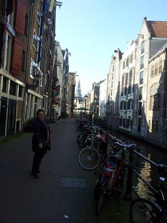 Sir Albert Hotel Amsterdam: Rue d'Amsterdam