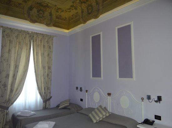 Hotel Ferrucci : chambre quadruple