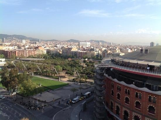 Catalonia Barcelona Plaza: View from bedroom