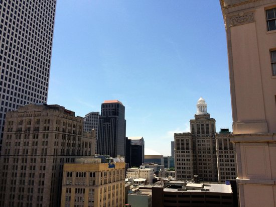 International House Hotel : New Orleans Skyline
