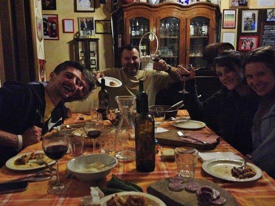 B&B San Gennaro Castello: Abendessen mit Dario und seiner Familie