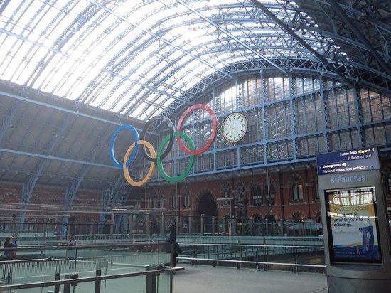 St. Pancras International Station: st pancras