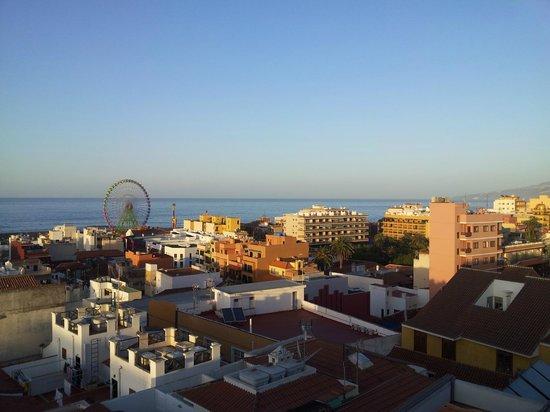 Hotel Marte: Aussicht vom Hoteldach aus