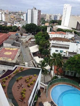 Sheraton Da Bahia Hotel, Salvador : view from our room - contrasts of salvador !