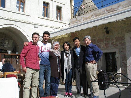 Safran Cave Hotel: 가족이운영하는 사프란케이브호텔