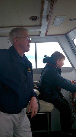 Seatrek Marine Services : Skipper with his new Protégée