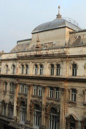 Danubius Hotel Astoria City Center : Вид из номера