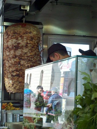 Mustafa's Gemuese Kebab: Great doner