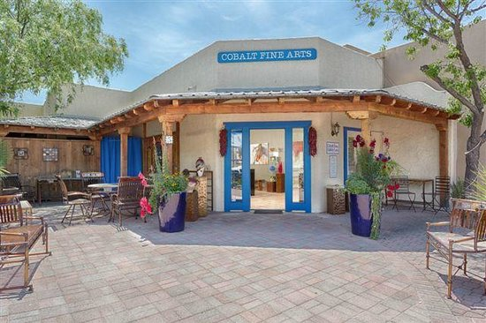 Tubac, AZ: Gallery front.