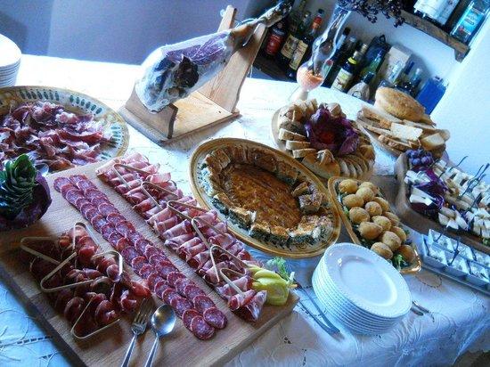 Borgo di Carpiano : brunch salato di pasqua