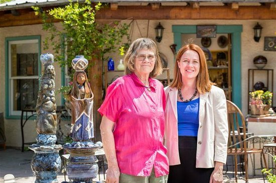 Clay Hands Gallery & Studio : Mother daughter run businesses side by side.